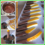 ricetta scorzette d'arancia candite buccia d'arancia ricoperta al cioccolato