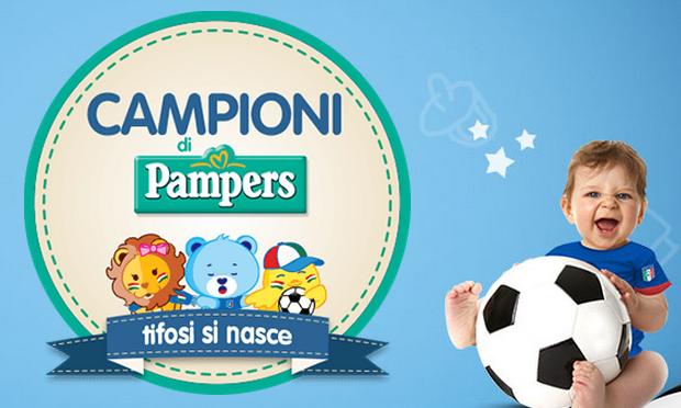 """PAMPERS TIFOSI SI NASCE, VINCI TV SAMSUNG 3D E DIVENTI PROTAGONISTA DELLO SPOT """"MONDIALE"""""""