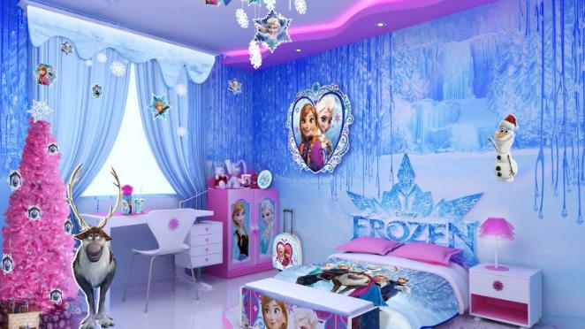 Cameretta Disney Principesse : Cameretta frozen per bambine con soli euro si può ed è