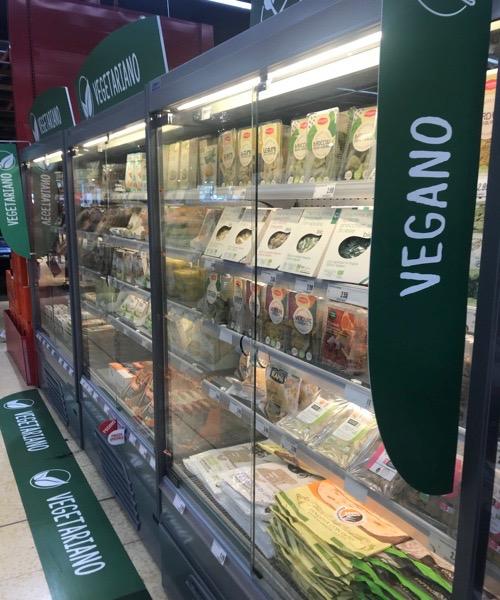 cibo vegano in offerta milano