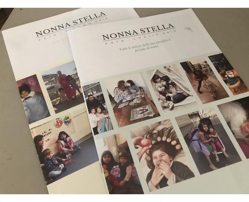 album foto da regalare ai nonni