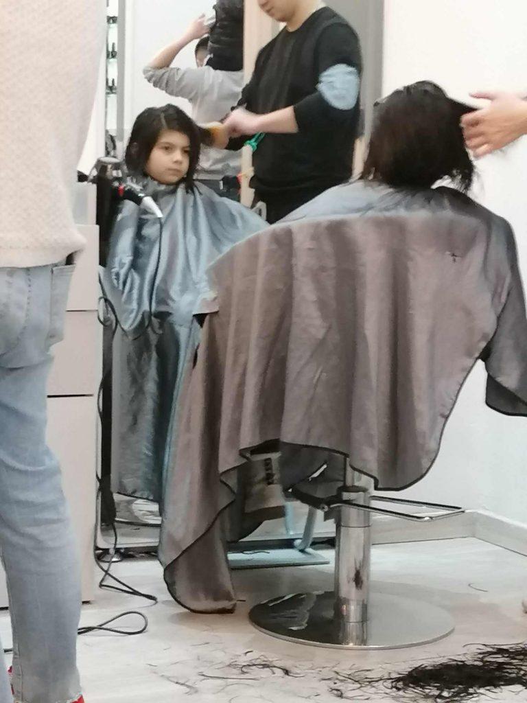 bambini al lavoro parrucchiere cinese