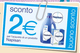 BUONO SCONTO NAPISAN, 2 EURO RISPARMIATI