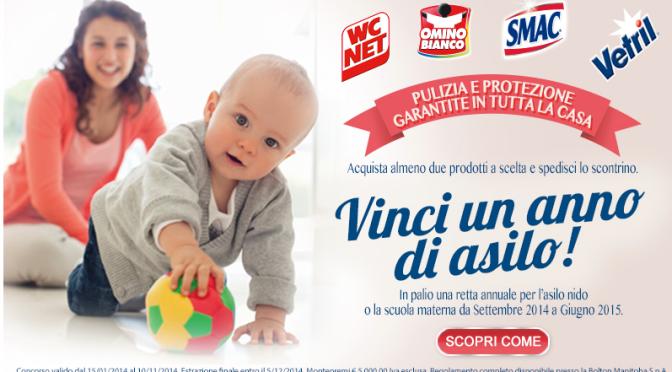 VINCI 1 ANNO DI ASILO E BOLLETTE PAGATE CON SMAC