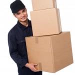 pacco consegna