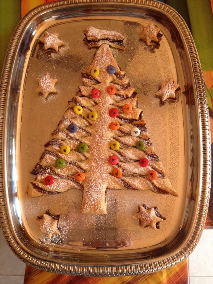 Dolce Di Natale Albero.Dolce Di Natale Con Nutella A Forma Di Albero Di Natale Low Cost