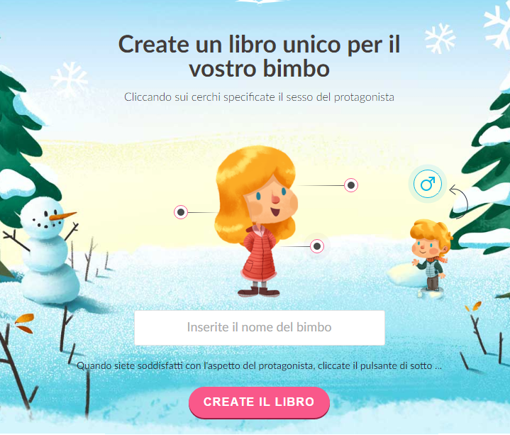 libri per bambini personalizzati