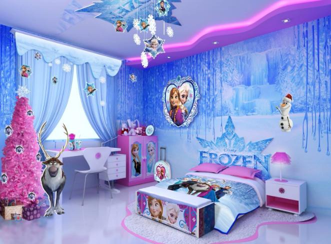 Cameretta Per Bimba.Cameretta Frozen Per Bambine Con Soli 130 Euro Si Puo Ed E