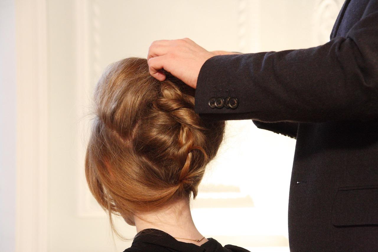 chignon capelli cerimonia