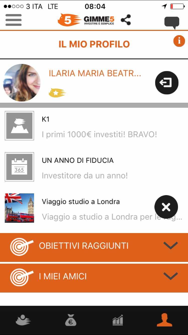 app gimme5 opinioni