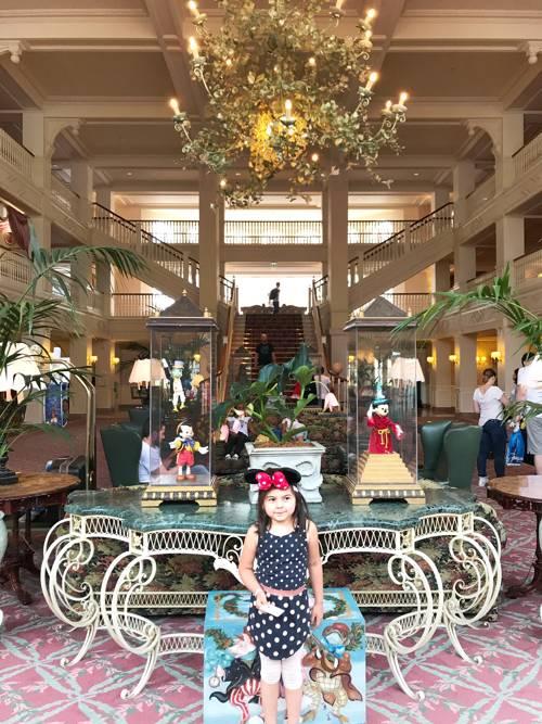 reception disney hotel