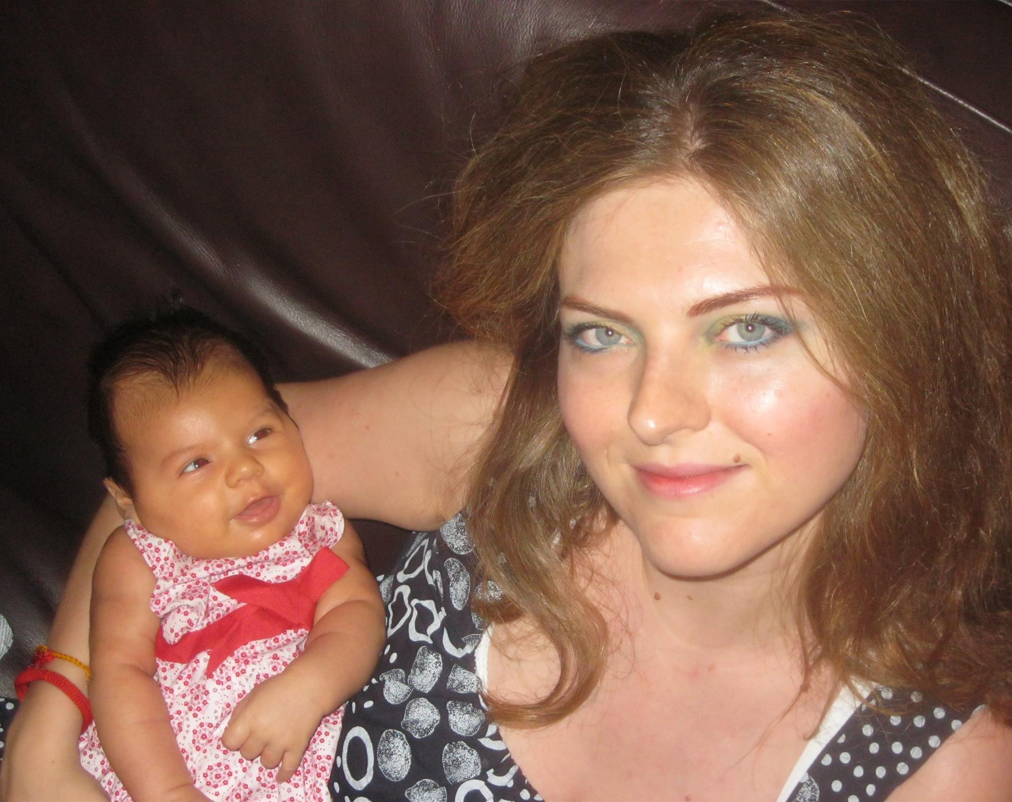 io e flor neonata
