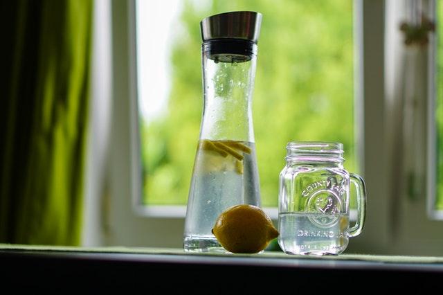 acqua depurata filtrata