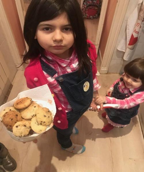 biscotti morbidi stile americano