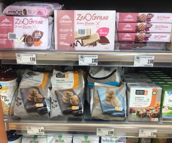 biscotti senza glutine a poco prezzo