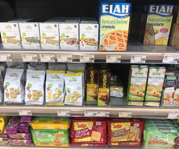 prodotti senza glutine in offerta